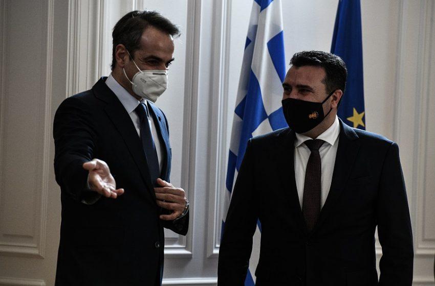 """""""Κλείδωσαν"""" οι οικονομικές συμφωνίες στη συνάντηση Μητσοτάκη με Ζάεφ – Πότε θα έρθουν τα καυτά μνημόνια στη Βουλή"""
