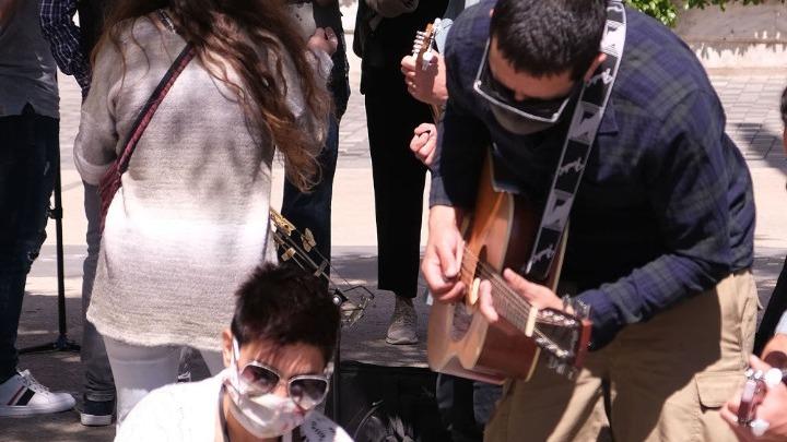 Μουσική διαμαρτυρία για το άνοιγμα του πολιτισμού με πληρότητα 50%