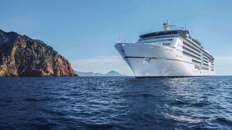 Με 340 επιβάτες αναχωρεί το δεύτερο κρουαζιερόπλοιο της σεζόν από το Ηράκλειο