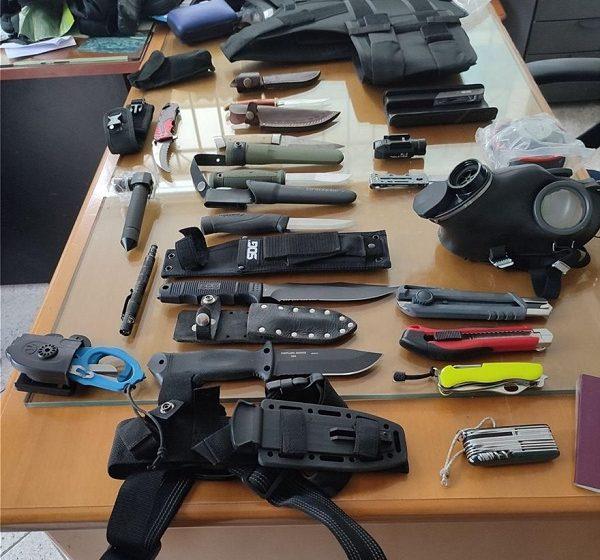 Αγ. Δημήτριος: Σύλληψη 45χρονου με οπλοστάσιο στο αυτοκίνητό του