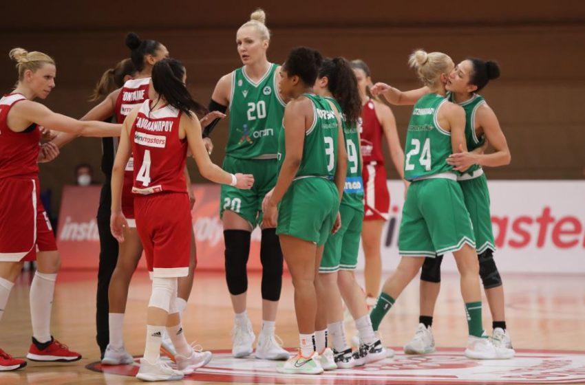 Μπάσκετ γυναικών: Νίκη του Ολυμπιακού στον πρώτο τελικό επί του Παναθηναϊκού