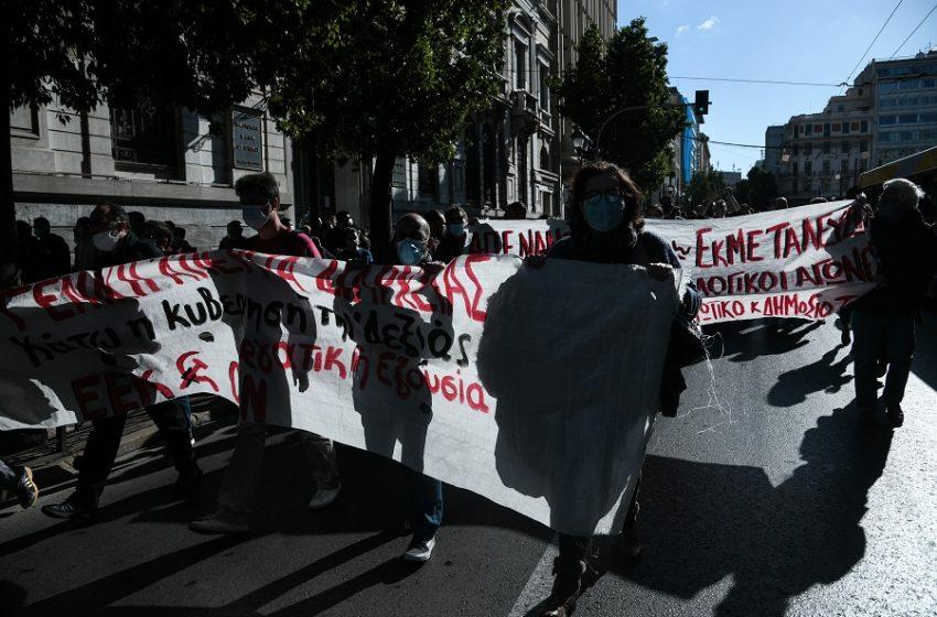 Πρώτη μετωπική για εργασιακά: Γενική απεργία με πορείες στο κέντρο – Υποστήριξη ΣΥΡΙΖΑ, ΚΙΝΑΛ, ΚΚΕ, ΜέΡΑ25