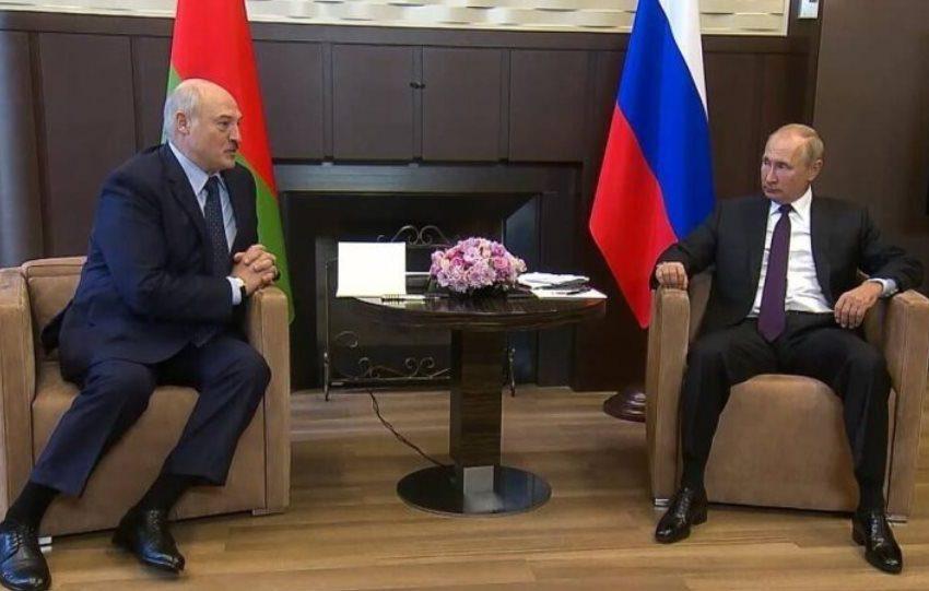 Για δεύτερη ημέρα συνομιλούν Πούτιν και Λουκασένκο στο Σότσι