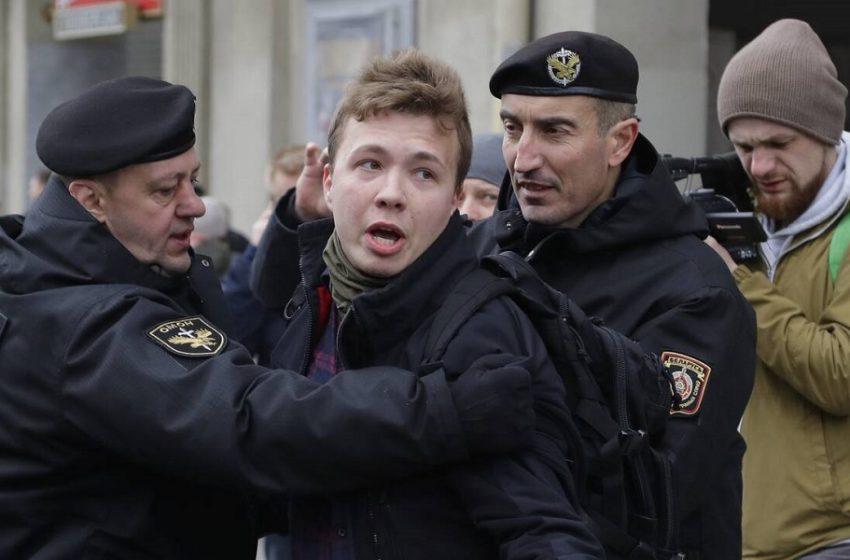 """Προτάσεβιτς: Ποιος είναι ο δημοσιογράφος που τον συνέλαβαν μετά την """"αεροπειρατεία"""""""