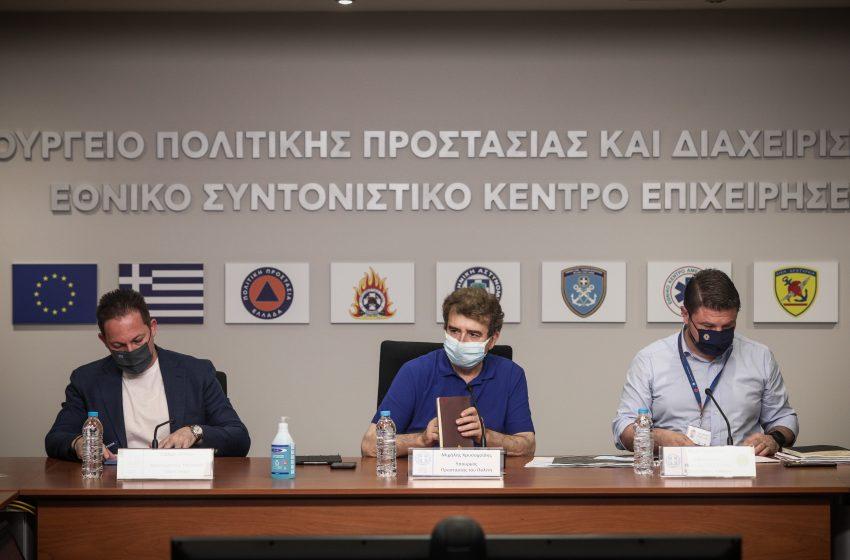 Έκτακτη σύσκεψη πυροπροστασίας για 18 περιοχές της Αττικής