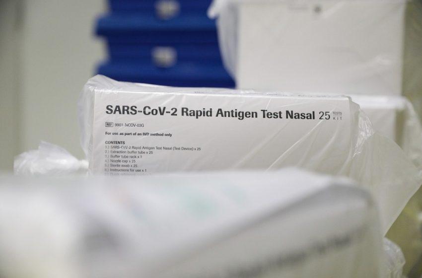 Τέλος στα self test: Πληροφορίες ότι μέσα Ιουνίου σταματά η υποχρεωτικότητα για τους πλήρως εμβολιασμένους