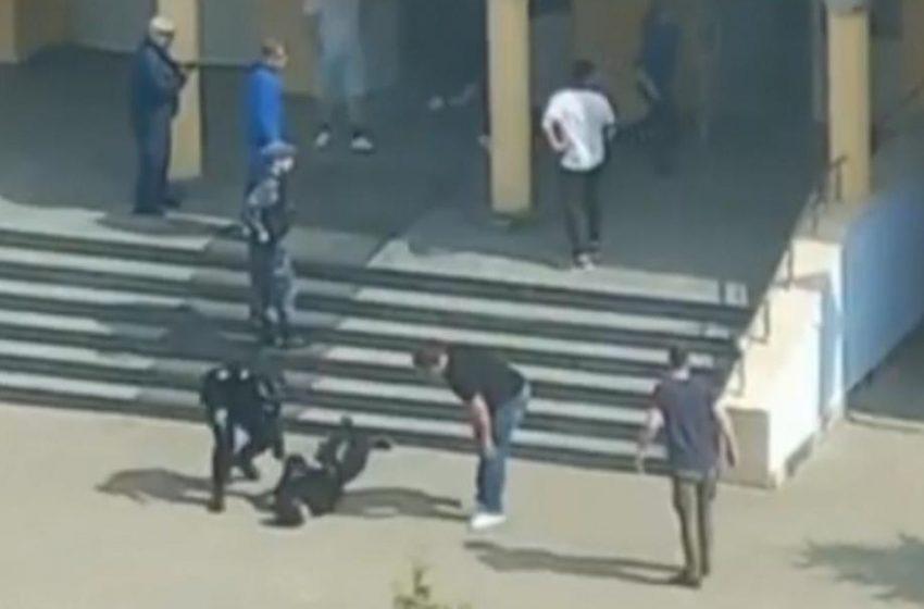 Μακελειό στη Ρωσία: Το πρώτο βίντεο μέσα από το σχολείο