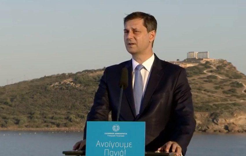 """""""Η Ελλάδα ανοίγει πανιά"""" – Το σχέδιο για τον τουρισμό ανακοίνωσε ο Χ. Θεοχάρης"""