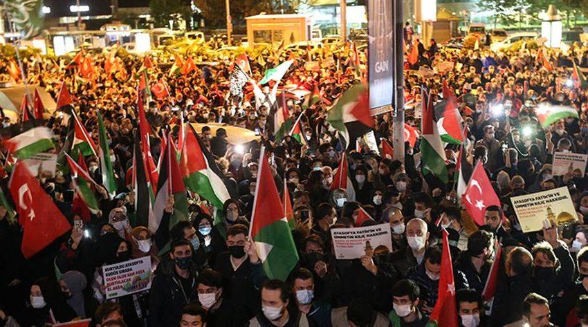 Διαδηλώσεις κατά του Ισραήλ στην Τουρκία