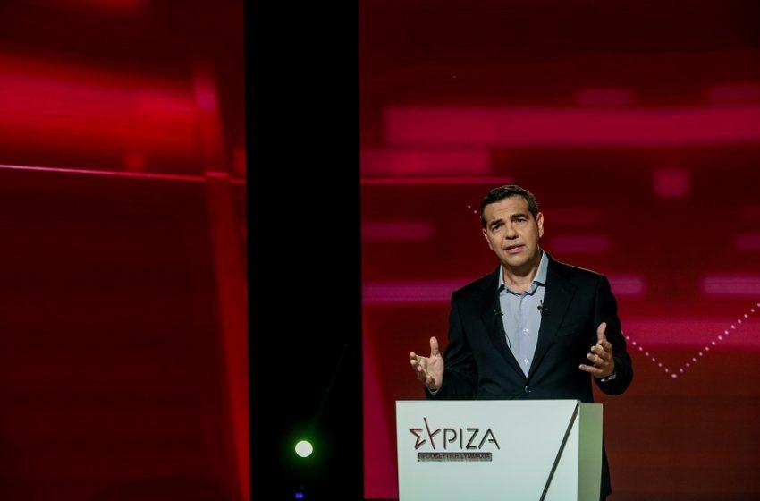 """Τσίπρας για Ταμείο Ανάκαμψης: Το σχέδιο """"Ελλάδα +"""" για  Ισχυρή Οικονομία και Δίκαιη Κοινωνία"""