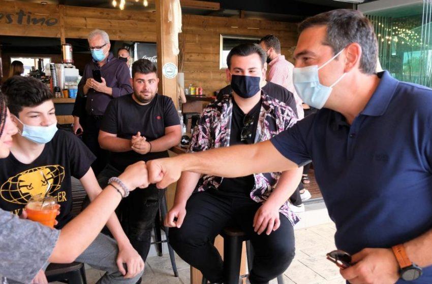 Τσίπρας: Το βίντεο από τη συζήτηση με νέους στην Ηλεία