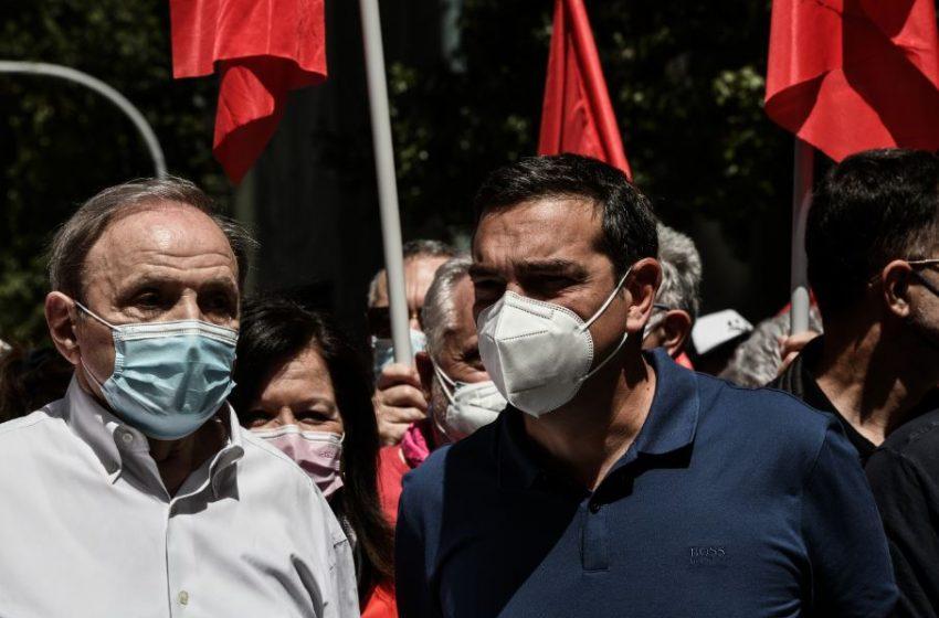 Στην πορεία ο Τσίπρας: Κορυφαία μάχη υπεράσπισης του δικαιώματος των εργαζομένων στη ζωή και στην αξιοπρέπεια