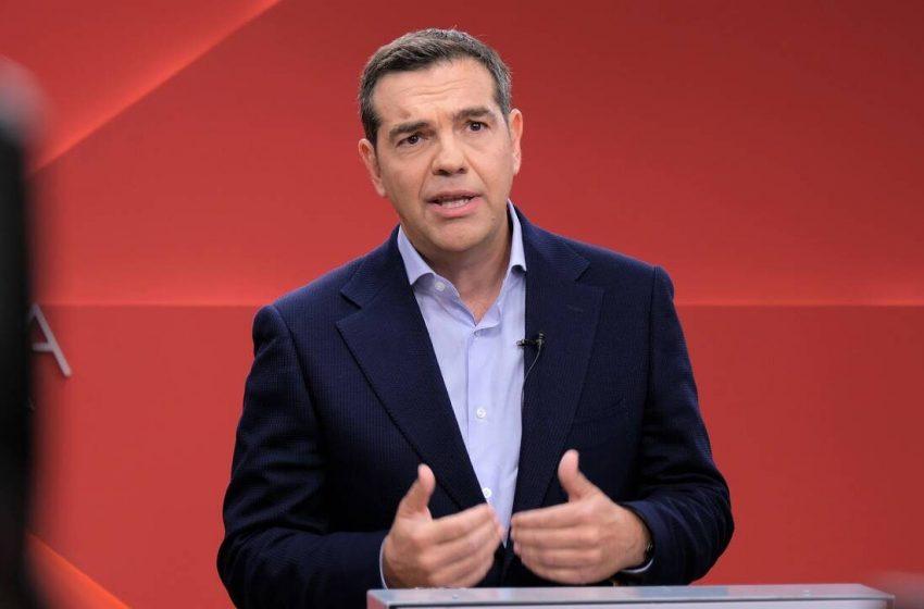 Τσίπρας: Το νόμος και τάξη που έταξε ο κ. Μητσοτάκης αποδεικνύεται ανομία και τάξη της μαφίας