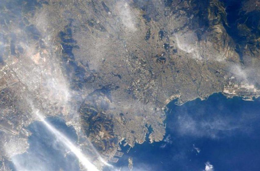 Η Αθήνα από το Διάστημα (pic)