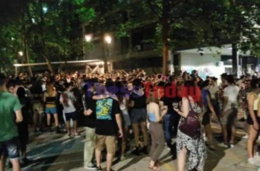 Χιλιάδες άτομα σε νέο πάρτι στο ΑΠΘ (vid)