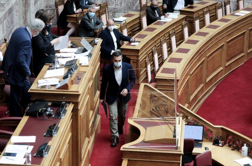 Σοβαρό επεισόδιο στη Βουλή: Ο Τασούλας αρνήθηκε να δώσει το λόγο στον Αλέξη Τσίπρα