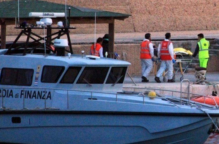 Τραγωδία στην Λαμπεντούζα με νεκρούς και  αγνοούμενους από ναυάγιο