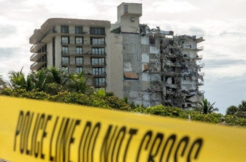 Μαΐαμι:Το κτίριο βυθιζόταν – Τρεις νεκροί, 19 τραυματίες και 99 αγνοούμενοι