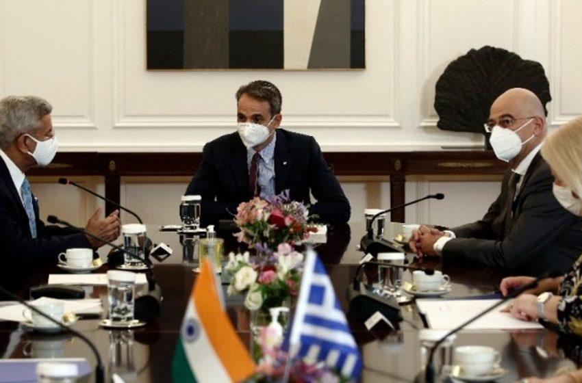 Μητσοτάκης: Η Ελλάδα, φυσικό σημείο εισόδου για τις ινδικές επιχειρήσεις στην ευρωπαϊκή αγορά