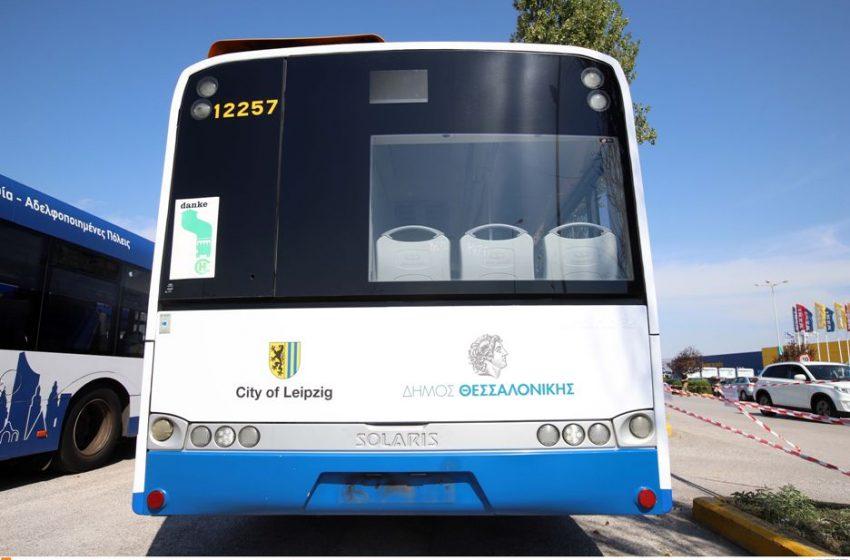 """Εργαζόμενοι ΟΑΣΘ: """"Γιατί ο Σκόδρας είπε """"ναι"""" στα  λεωφορεία της Λειψίας;"""