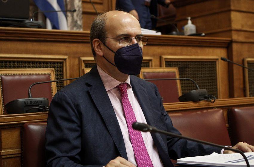 Χατζηδάκης: Φέρνουμε ένα νομοσχέδιο της σύγχρονης εποχής- Η αντιπολίτευση έβαλε ρότα για τον μεσαίωνα
