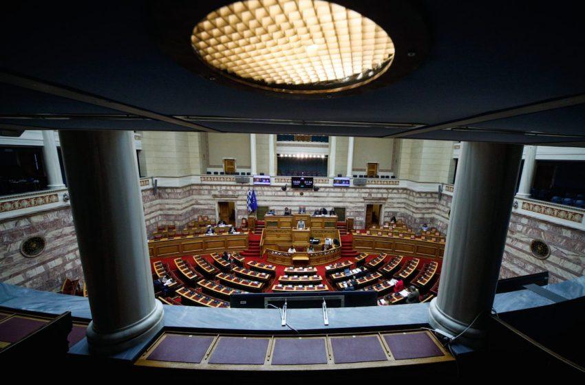Αντιπαράθεση για εγκληματικότητα και σωφρονιστικό σύστημα στη Βουλή