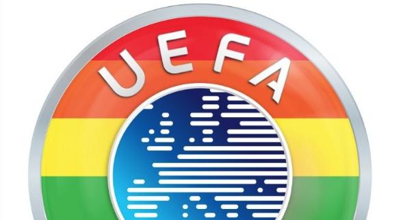 Η UEFA στα χρώματα του ουράνιου τόξου των ΛΟΑΤΚΙ