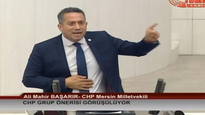 """""""Ρινγκ"""" η τουρκική Εθνοσυνέλευση – Ξύλο μεταξύ βουλευτών έπειτα από ομιλία κατά του Ερντογάν (vid)"""