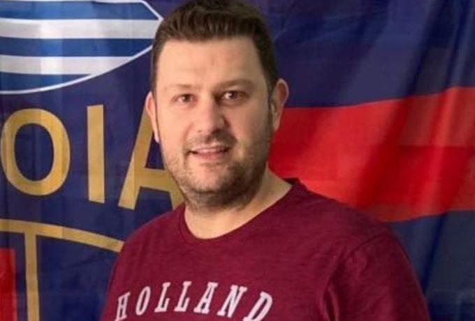"""""""Έφυγε"""" στα 38 του από κοροναϊό ο πρόεδρος της Βέροιας 2017 στο χάντμπολ"""