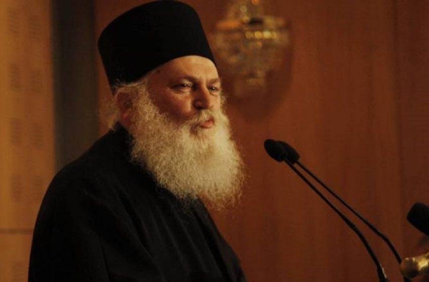 Κοροναϊός: Διασωληνώθηκε ο ηγούμενος της Μονής Βατοπεδίου, Εφραίμ