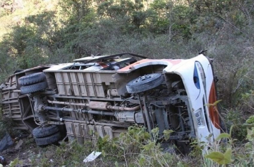Τραγωδία στο Περού: Τουλάχιστον 27 νεκροί από πτώση λεωφορείου σε χαράδρα