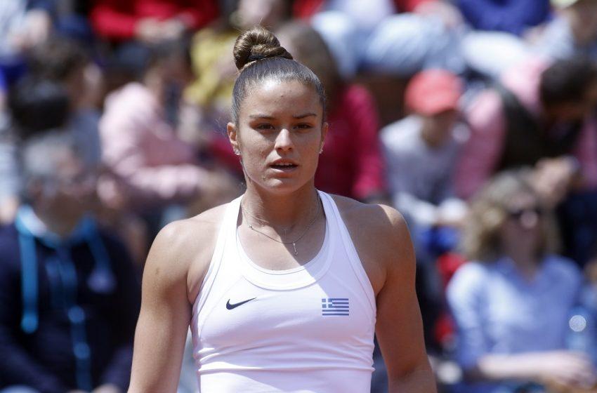 "Roland Garros: Προκρίθηκε στη φάση των ""16"" η Σάκκαρη"