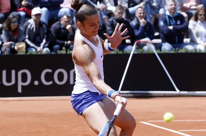 Roland Garros: Σπουδαία εμφάνιση της Σάκκαρη-Προκρίθηκε για πρώτη φορά στην καριέρα της στις «8»