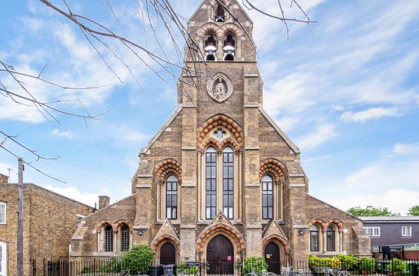 Λονδίνο/ Άγιο…real estate- Πολυτελής κατοικία σε εκκλησία με 6 εκατ. λίρες (εικόνες)