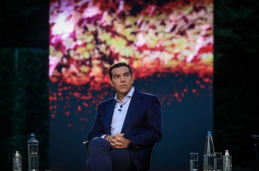 """Αλέξης Τσίπρας: """"Η Πράσινη Επανάσταση είναι το χρέος μας απέναντι στις επόμενες γενιές"""""""
