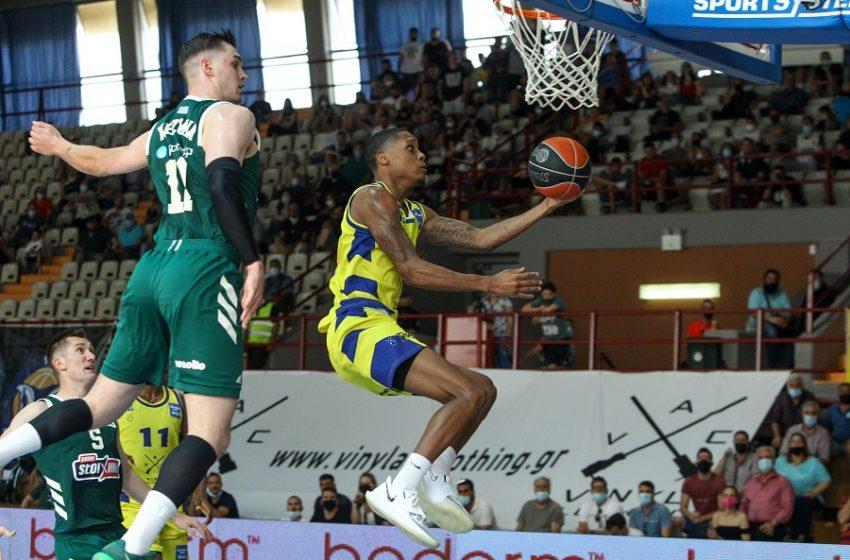 Basket League: Το εκπληκτικό Λαύριο έκανε το 1-1 στους τελικούς με τον Παναθηναϊκό