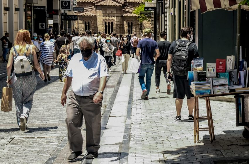 Κοροναϊός: 835 κρούσματα , 343 διασωληνωμένοι και 22 νέοι θάνατοι