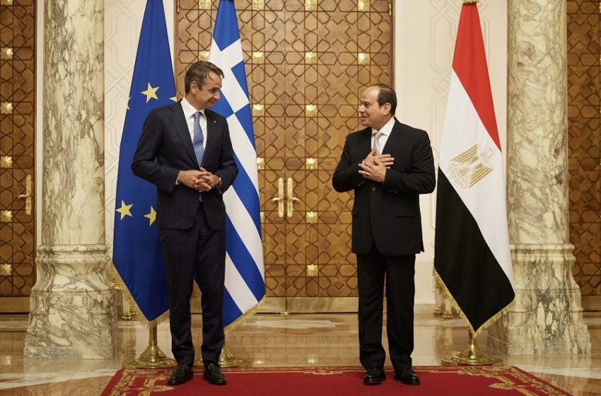 Μητσοτάκης από την Αίγυπτο: Η τουρκοκυπριακή πρόταση για δύο κράτη δεν μπορεί να αποτελέσει βάση για διαπραγμάτευση