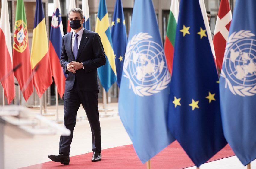 Μητσοτάκης: Η θέση της Τουρκίας για λύση δύο κρατών στο Κυπριακό είναι απορριπτέα