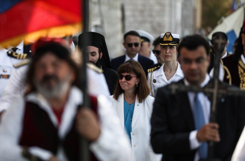 Επίσκεψη Σακελλαροπούλου στις Σέρρες για την επέτειο  απελευθέρωσης της πόλης