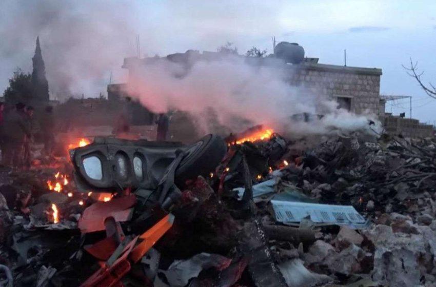 Αγία Πετρούπολη: Συνετρίβη στρατιωτικό ελικόπτερο – Τρείς νεκροί (vid)