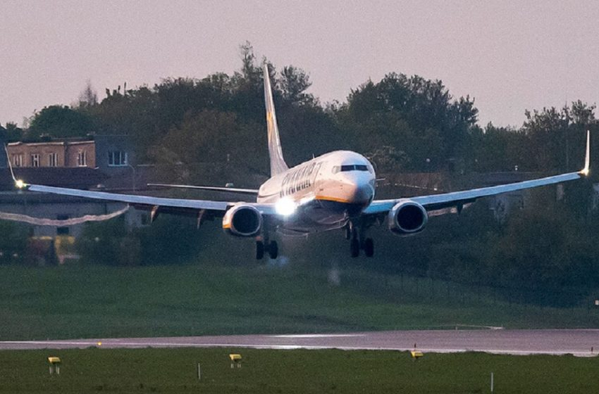 Νotamγια απαγόρευση πτήσεων στην Ελλάδα αεροπορικών εταιρειών της Λευκορωσίας