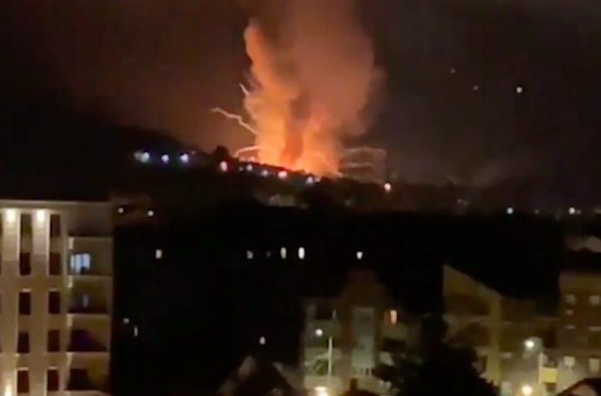 Απανωτές εκρήξεις σε εργοτάσιο πυρομαχικών στη Σερβία (vid)