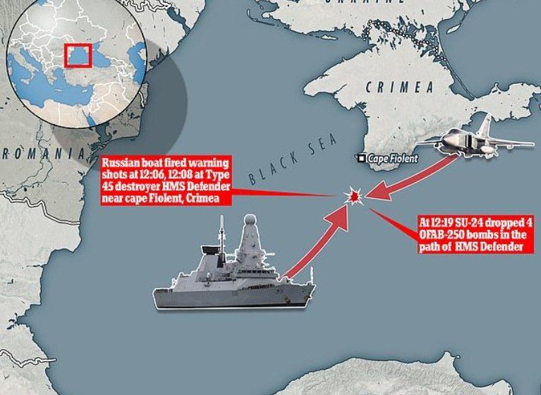Μαύρη Θάλασσα: Βίντεο του BBC μέσα από το βρετανικό αντιτορπιλικό -Η ένταση με τα ρωσικά μαχητικά (vid)