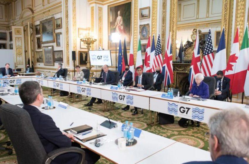 """Υπουργείο Οικονομικών: """"Ιστορική"""" η απόφαση από τους G7 για τον εταιρικό φόρο"""