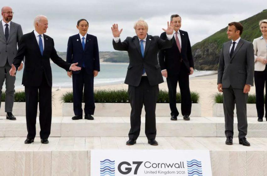 Χώρες G7: Προσφέρουν 1 δισ. δόσεις εμβολίων κατά του Covid-19