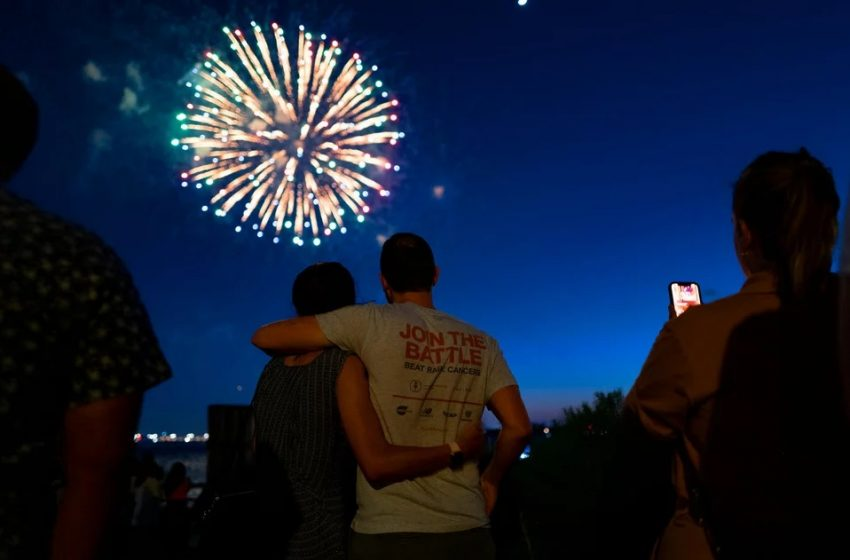 Νέα Υόρκη: Γιόρτασαν το τέλος του κοροναϊού με πάρτι (vid)