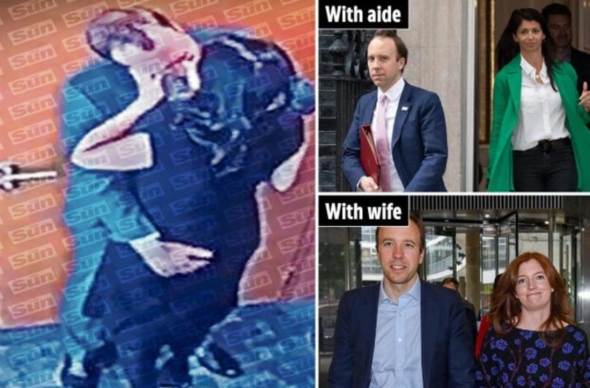 """Ροζ σκάνδαλο με τον Βρετανό υπουργό Υγείας: Στη φόρα """"καυτή"""" φωτογραφία με σύμβουλό του από την Sun"""