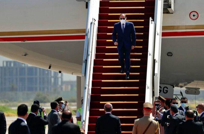 Πρώτη επίσκεψη Αιγύπτιου προέδρου στο Ιράκ μετά την εισβολή Σαντάμ στο Κουβέιτ