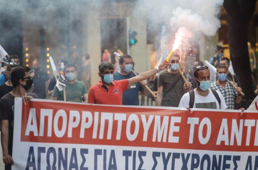 Απεργία: Συγκεντρώσεις και πορείες στη Θεσσαλονίκη (vid-εικόνες)